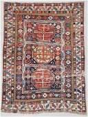 "Antique Shirvan Rug: 4'3"" x 5'7"" (130 x 170 cm)"