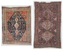 2 Antique Gashgai Rugs