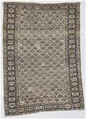 "Antique Kuba Rug: 3'11"" x 5'8"" (118 x 172 cm)"