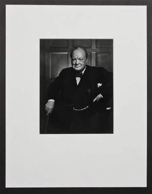 Yousuf Karsh (1908-2002) Winston Churchill