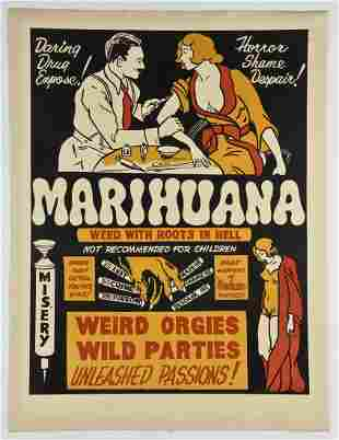 Marihuana: Weed With Roots in Hell Movie Poster