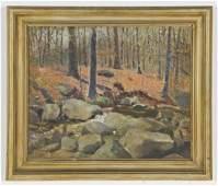 Walter Kumme (American, b. 1895) Landscape