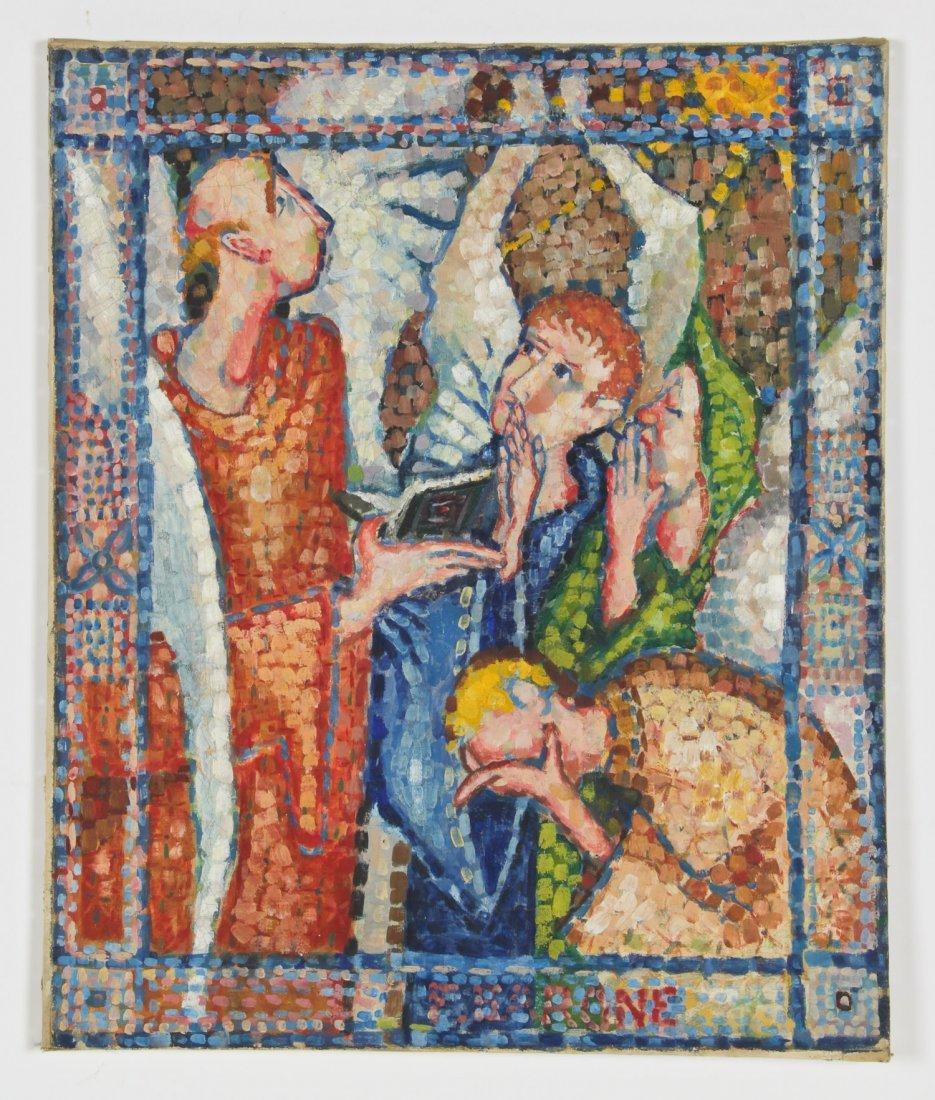 Francis Barone (American, 20th c.)  Figures