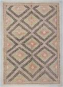 "Modern Turkish Kilim: 6'4"" x 9'1"" (193 x 277 cm)"