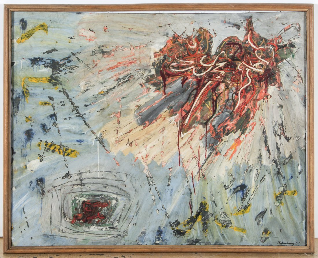 Robert Richenburg (American, 1917-2006) Abstract