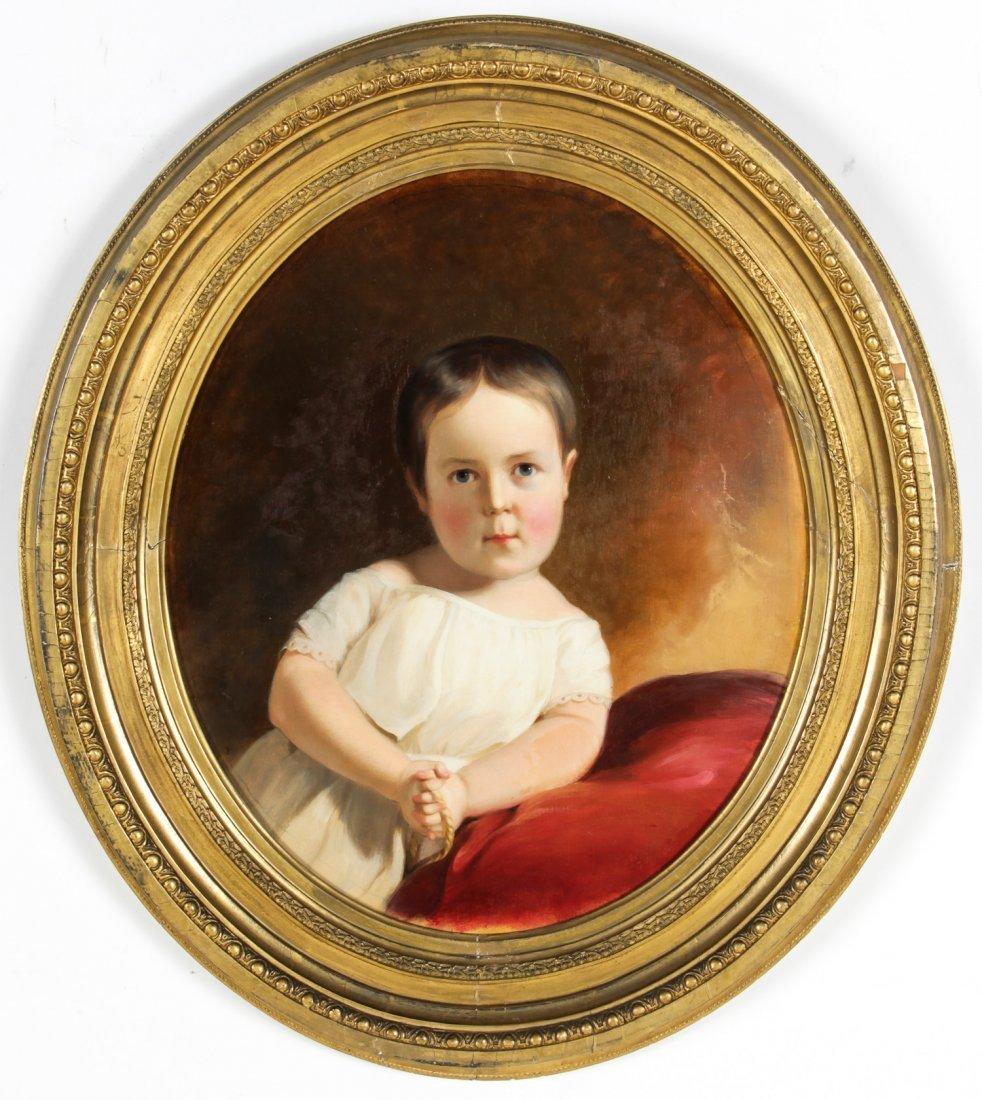 "Thomas Sully (American, 1783-1872) ""Portrait of"