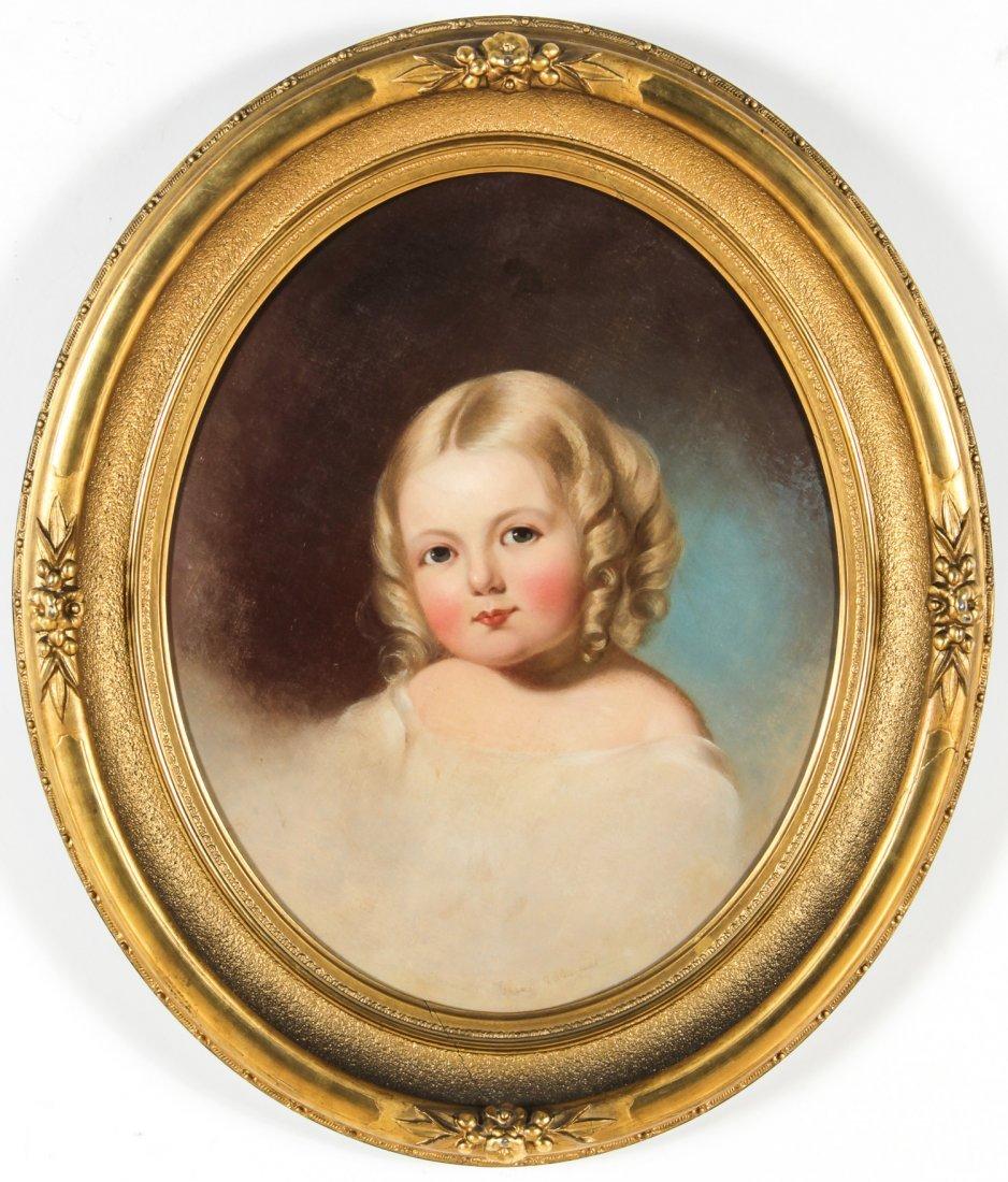 "Jane Cooper Sully (American, 1807-1877) ""Portrait of"
