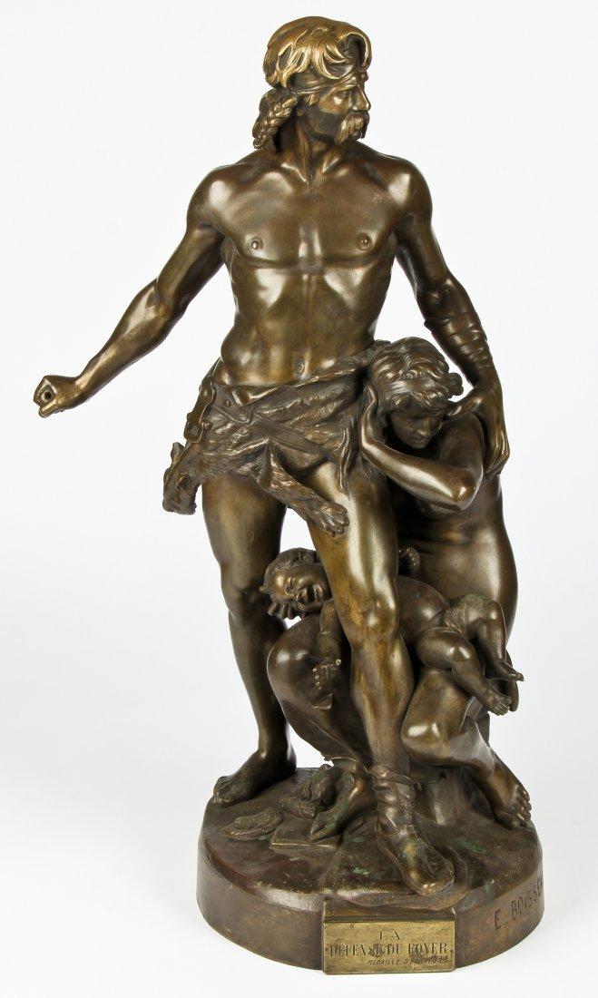 Emile-Andre Boisseau (French, 1842-1923) Bronze Statue