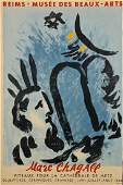 An Original 1960 Marc Chagall Exhibition Poster