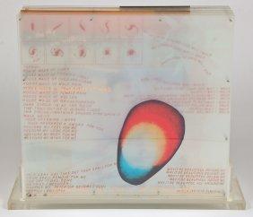 """Robert Rauschenberg (american, 1925-2008) """"opal"""