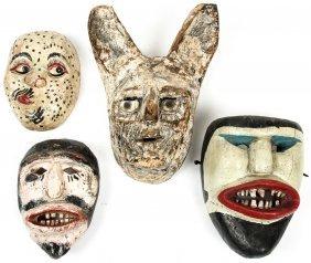 4 Grotesque Mexican Masks