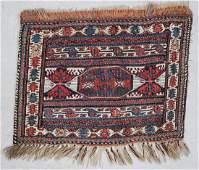 Antique Caucasian Sumakh Bagface: 2' x 1'6' (61 x 46