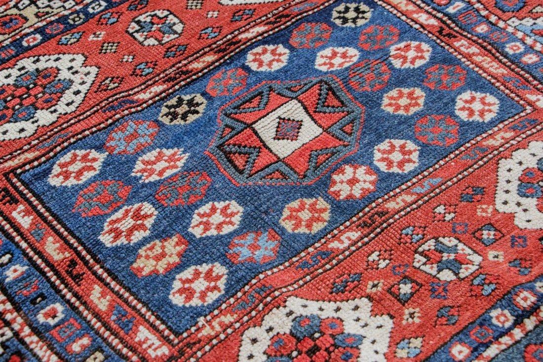 """Antique Turkish Bergama Rug: 3' x 2'9"""" (91 x 84 cm) - 3"""