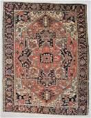 """Antique Serapi Rug: 9'6"""" x 12'3"""" (290 x 373 cm)"""