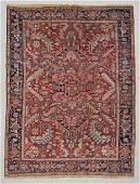 "Antique Heriz Rug: 7'6"" x 9'10"" (229 x 300 cm)"