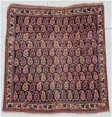 Antique Afshar Rug 35 x 37 104 x 109 cm