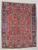 "Antique Heriz Rug: 8'4"" x 10'9"" (254 x 328 cm)"