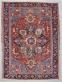 "Antique Heriz Rug: 7'7"" x 10'3"" (231 x 312 cm)"