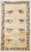 SemiAntique Turkish Village Rug 48 x 710 142 x
