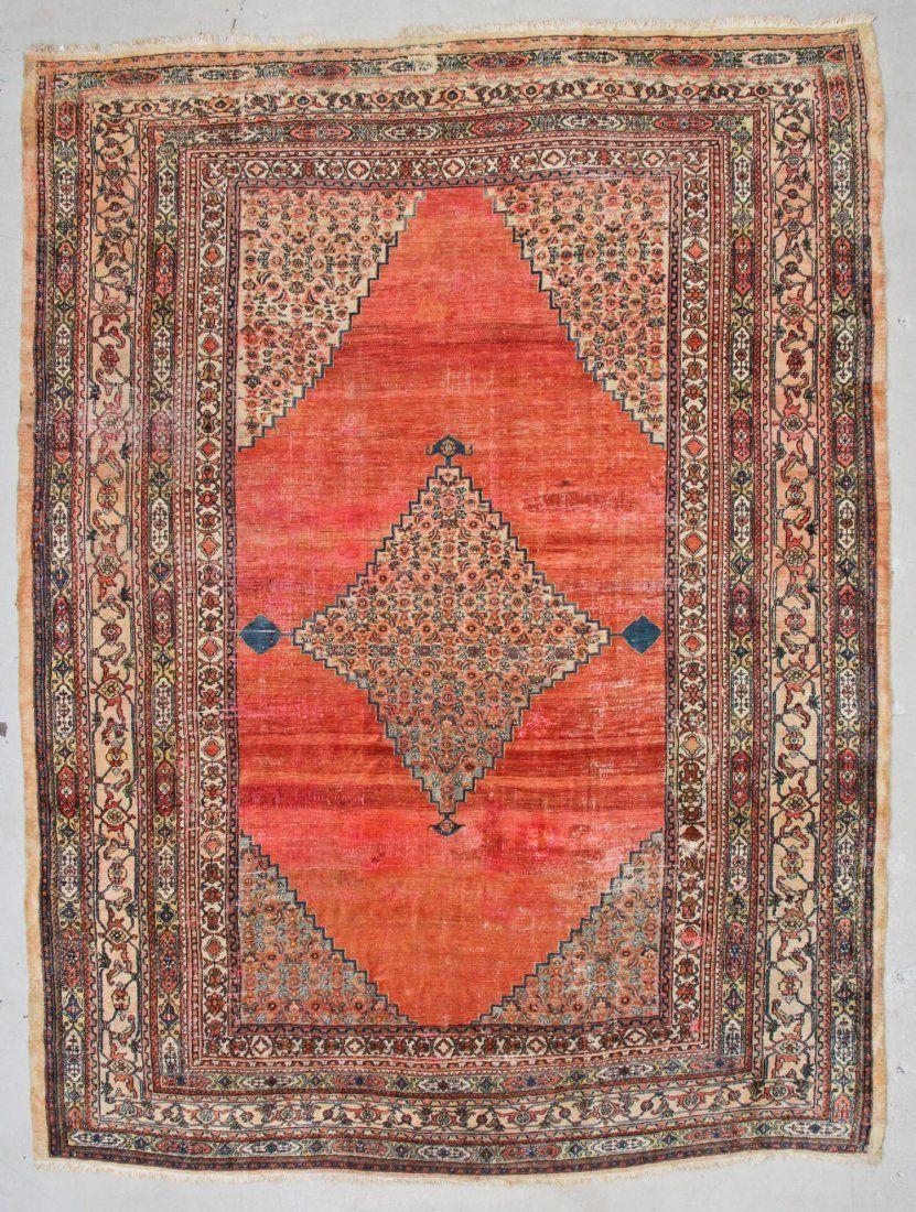 "Antique Khorassan Rug: 10'3"" x 13'6"" (312 x 412 cm)"