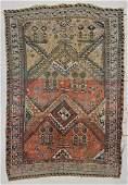 Antique Caucasian Dragon Sumakh Rug 59 x 82 175 x