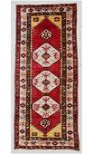 SemiAntique Turkish Village Rug 44 x 99 132 x