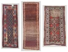 3 Antique Caucasian Persian Rugs 34 x 810 102 x