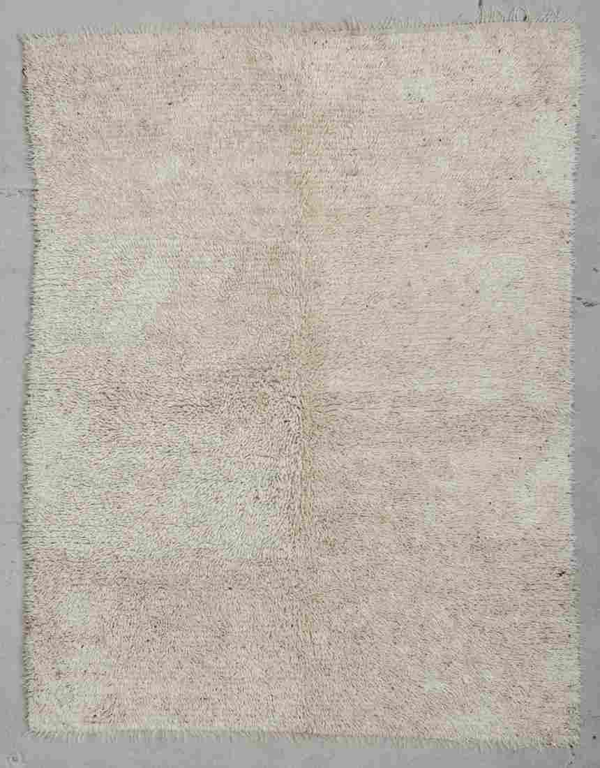"Vintage Turkish Tulu Rug: 5'5"" x 6'11"" (165 x 211 cm)"