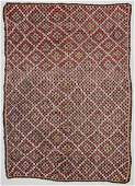 "Semi-Antique Turkish Djidjim Rug: 7' x 9'8"" (213 x 295"