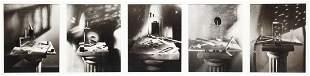 Jan Groover (American, b. 1943) Series of 5 Still Life