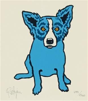 "George Rodrigue (American, 1944-2013) ""Blue Dog"""