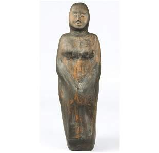 Olen Bryant (American, b.1927) Carved Wood Sculpture