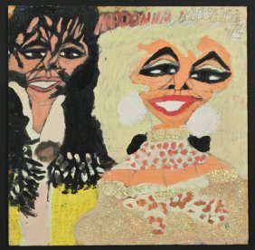 "Chuckie Williams (1957-1999) ""michael And Madonna"""