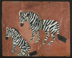 "Chuckie Williams (1957-1999) ""zebras"""