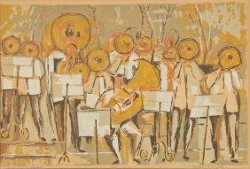 """Nathan Margolis (1908-1981) """"fanfare At Tanglewood"""""""
