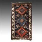 "Caucasian Kuba Kilim: 115"" x 67"" (170 x 292 cm)"