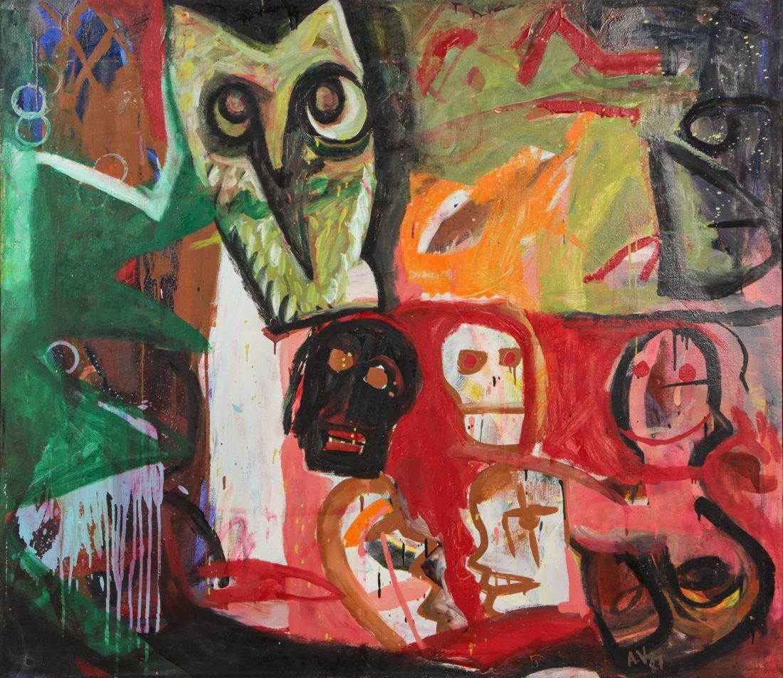 Albert Venegas (20th c.) Painting, 1987