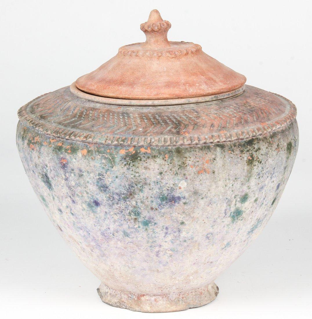 Large Antique Terracotta Vessel