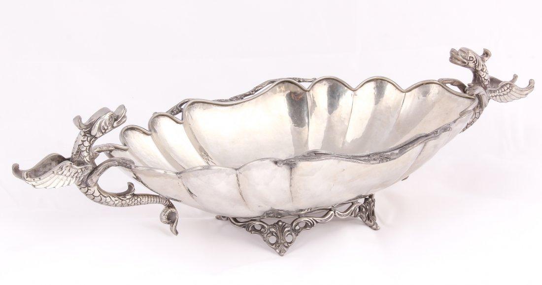 Italian Dragon Compote Centerpiece Bowl