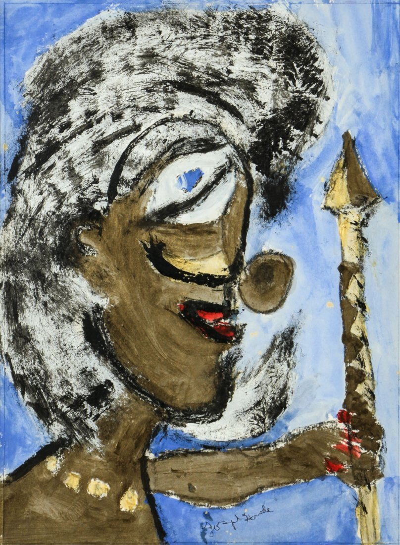 Joseph Hardin (1921-1989) Portrait