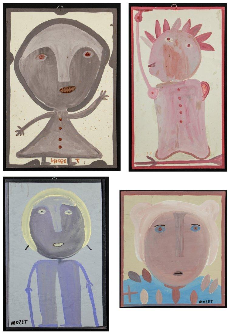 Mose Tolliver (American/Alabama 1925-2006) 4 Original