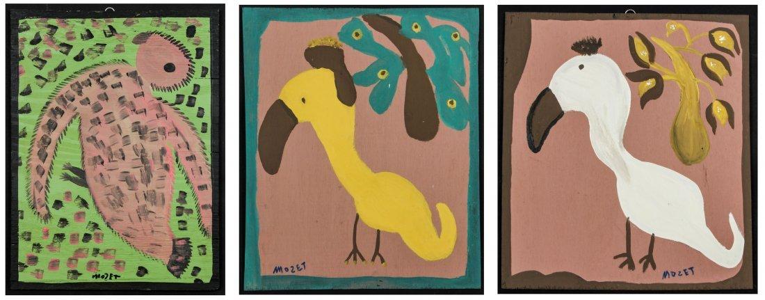 Annie Tolliver (America, 20th C.) 3 Original Works, c.
