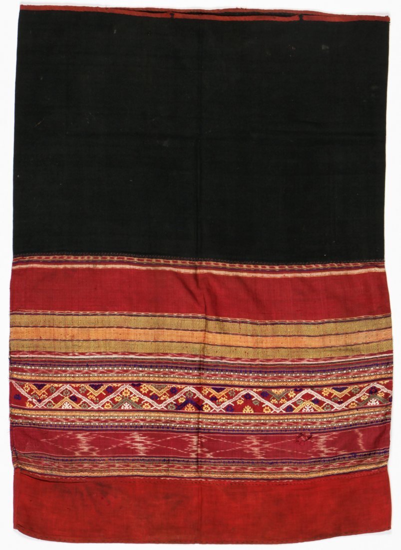 Antique Tai Lue Skirt (phaa sin), Laos