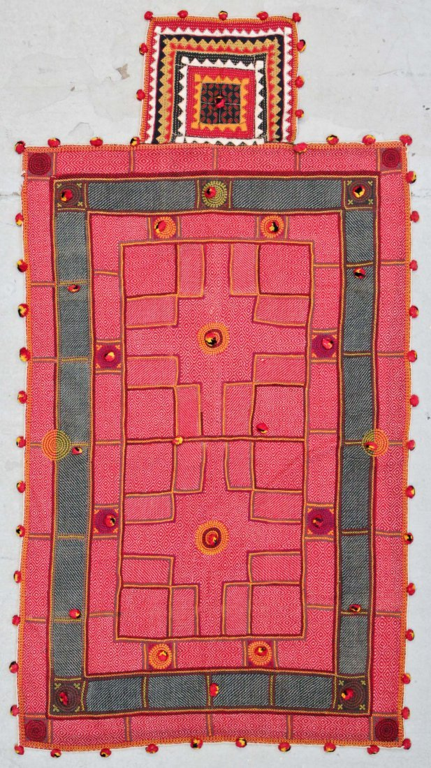 Old Sind Province Embroidered Textile
