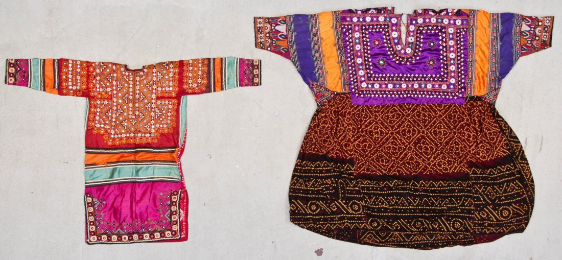 2 Old Garments From India/Pakistan