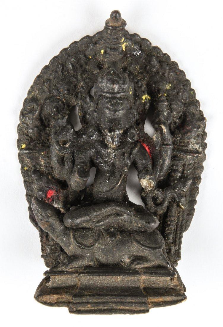 Bronze Statue of Ganesh, Nepal, Ca. 1700-1750