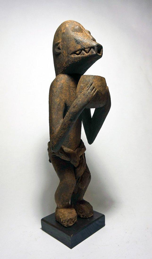 Baule Mbra Monkey Shrine Idol