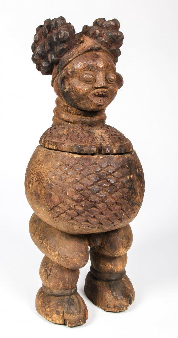 African Bangwa Figural Vessel