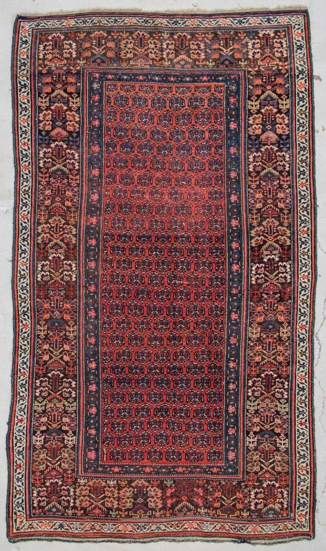 """Antique West Persian Rug:  5'4"""" x 9'2"""" (163 x 279 cm)"""