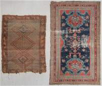 2 Antique Persian and Turkish Rugs